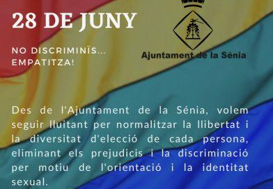 28J Dia de l'orgull lesbià, gai, trans, bisexual i intersexual.